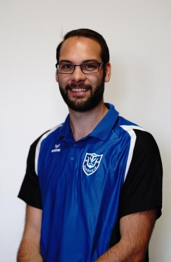 Jugendleiter Marcel Mozer